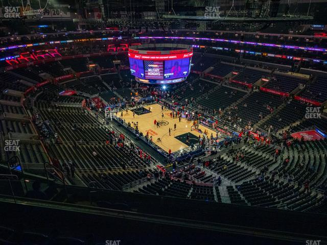 Staples Center Section 313 view