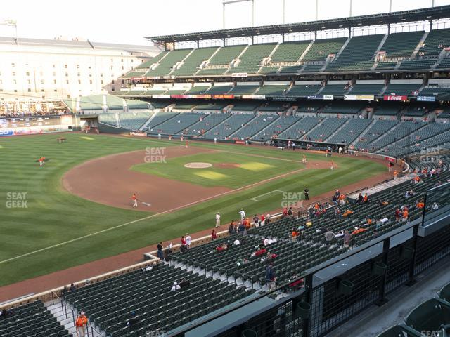 Oriole Park at Camden Yards Section 258 view