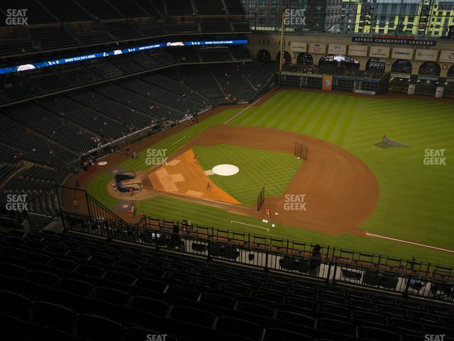 Minute Maid Park Section 427 view