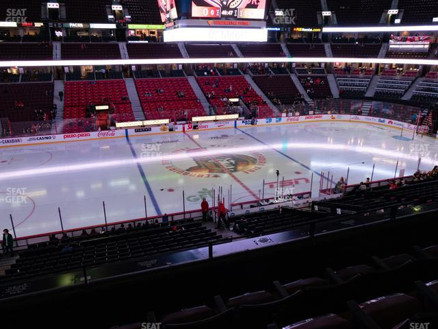 Canadian Tire Centre Section 223 view