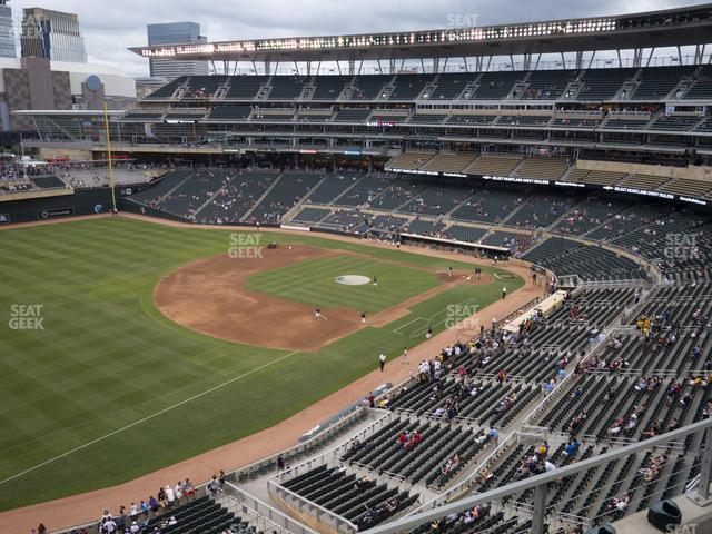 Target Field Section 226 view