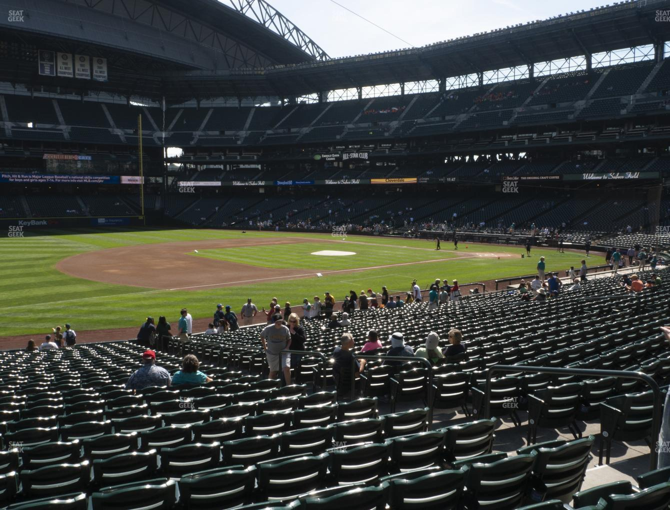 Seattle Mariners at T-Mobile Park Section 142 View