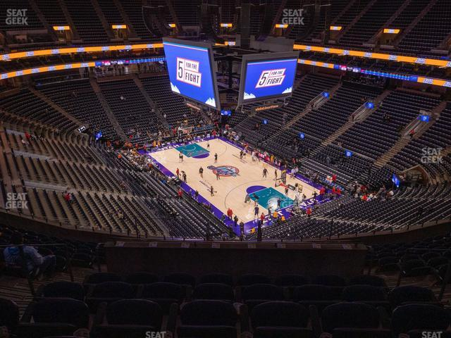 Vivint Smart Home Arena Section 126 view