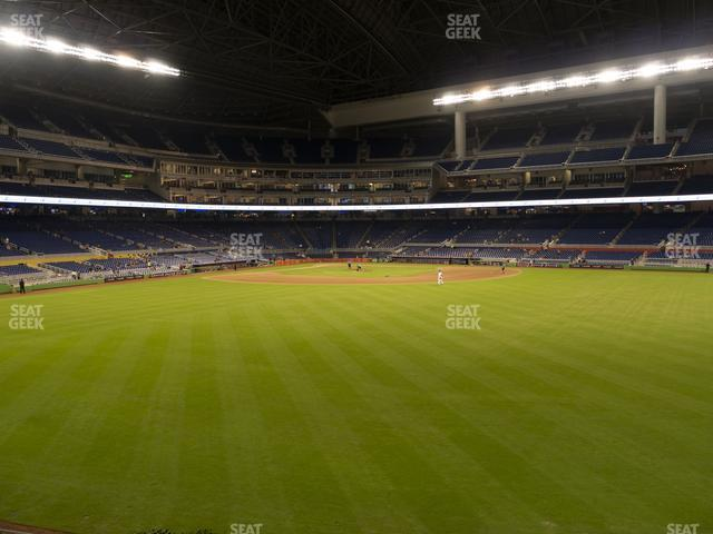 Marlins Park Section 35 view