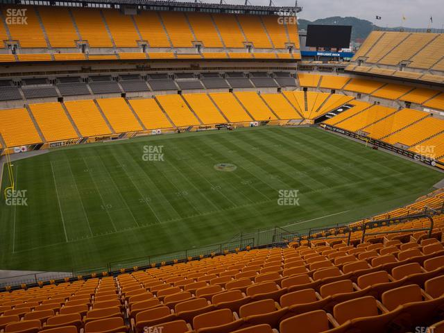 Heinz Field Section 507 view