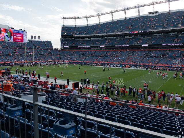 Empower Field at Mile High Section 120 view
