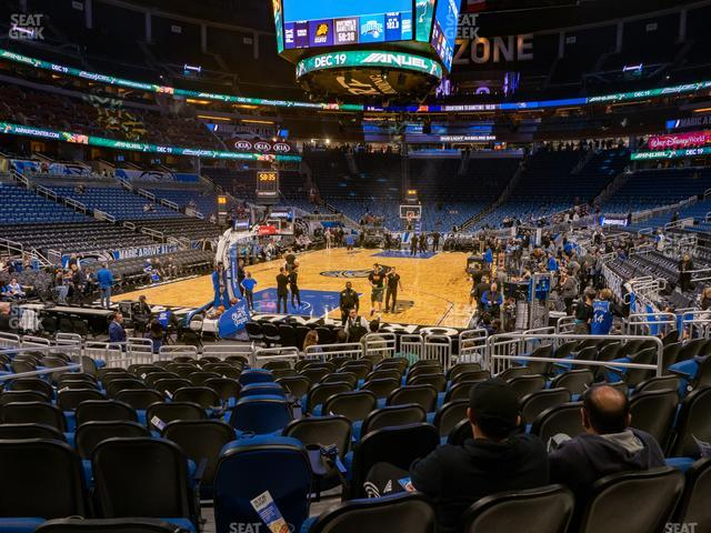 Amway Center Section 109 view