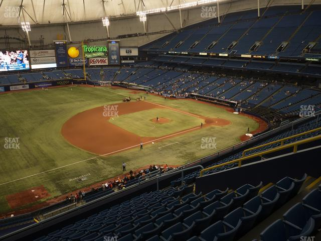 Tropicana Field Section 317 view