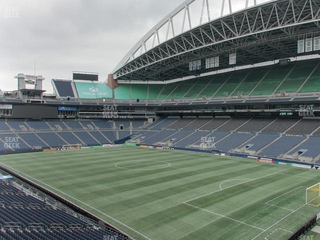 CenturyLink Field Section 102 view