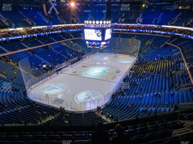 KeyBank Center Section 325 view