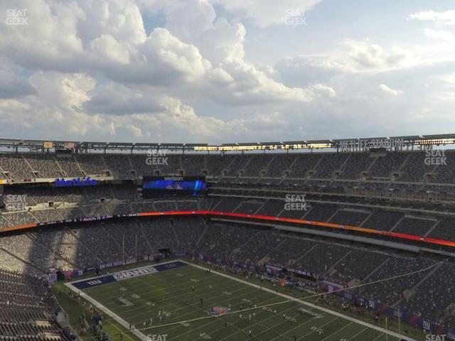 MetLife Stadium Section 307 view