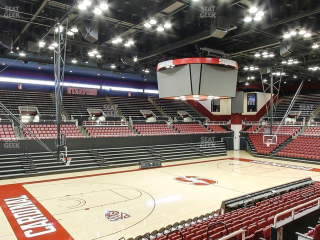 Maples Pavilion Section 1 view