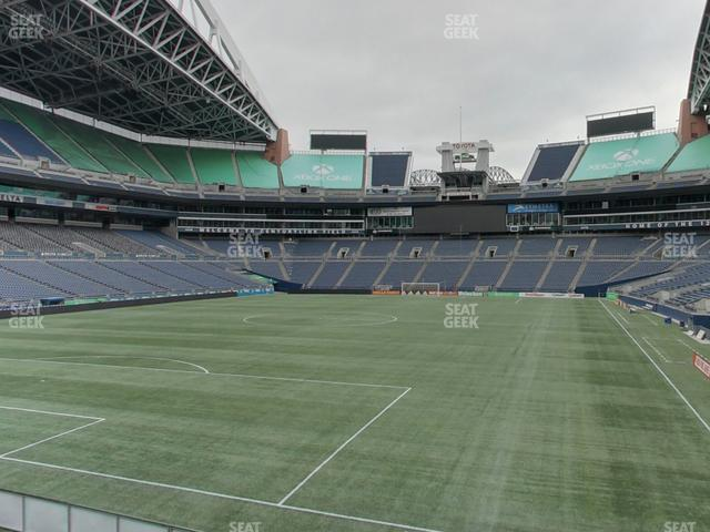 CenturyLink Field Section 145 view