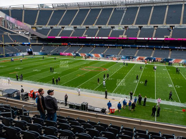 Soldier Field Section 207 view