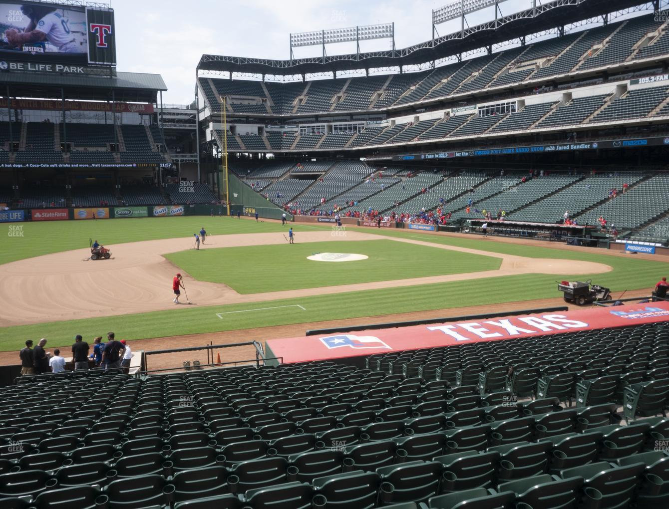 Concert at Globe Life Park Section 18 View