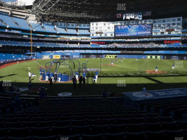 Rogers Centre Section 120 R view