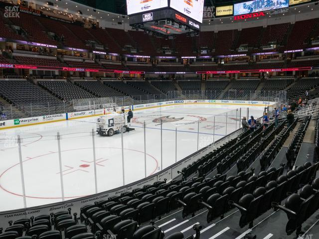Honda Center Section 212 view