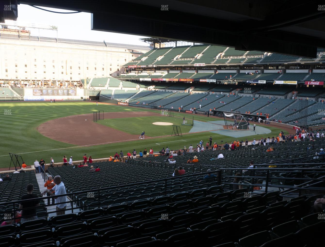 Baltimore Orioles at Oriole Park at Camden Yards Section 59 View