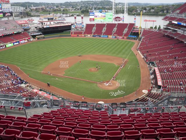 Great American Ball Park Section 521 view