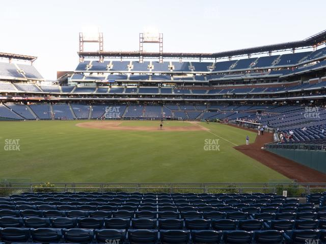 Citizens Bank Park Section 142 view