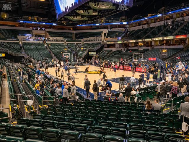 Bankers Life Fieldhouse Section 13 view