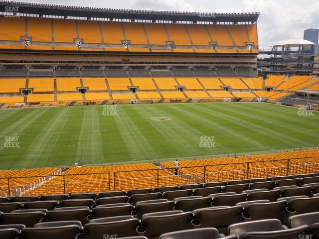 Heinz Field Section 233 view