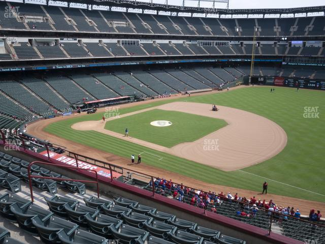Globe Life Park Section 236 view