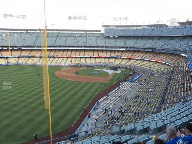 Dodger Stadium Reserve 55 view