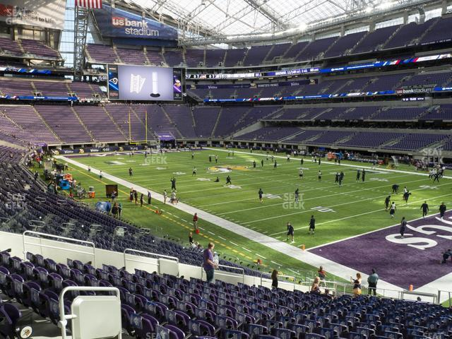 U.S. Bank Stadium Section 103 view