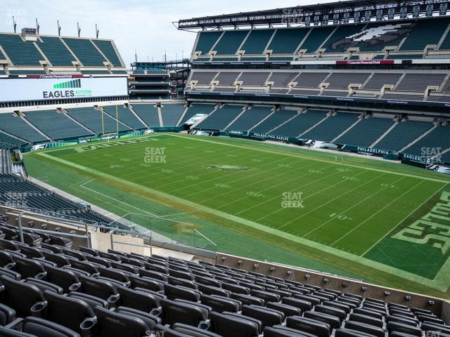Lincoln Financial Field Section C 5 view