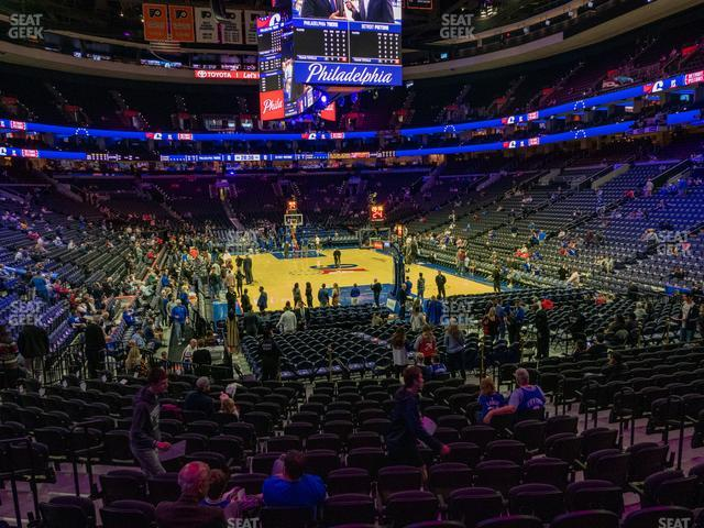 Wells Fargo Center Section 106 view