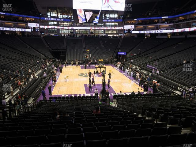 Golden 1 Center Section 114 view