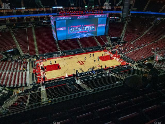 Toyota Center Section 428 view