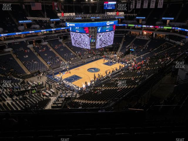 Target Center Section 236 view