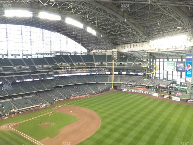 Miller Park Section 409 view
