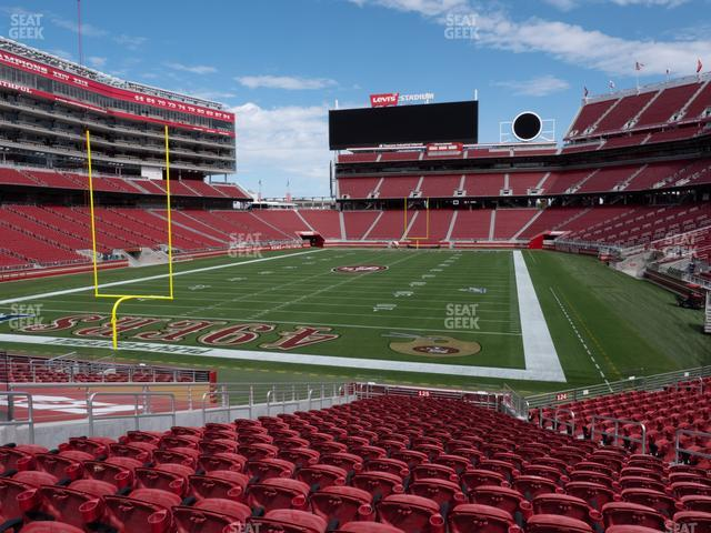 Levi's Stadium Section 125 view