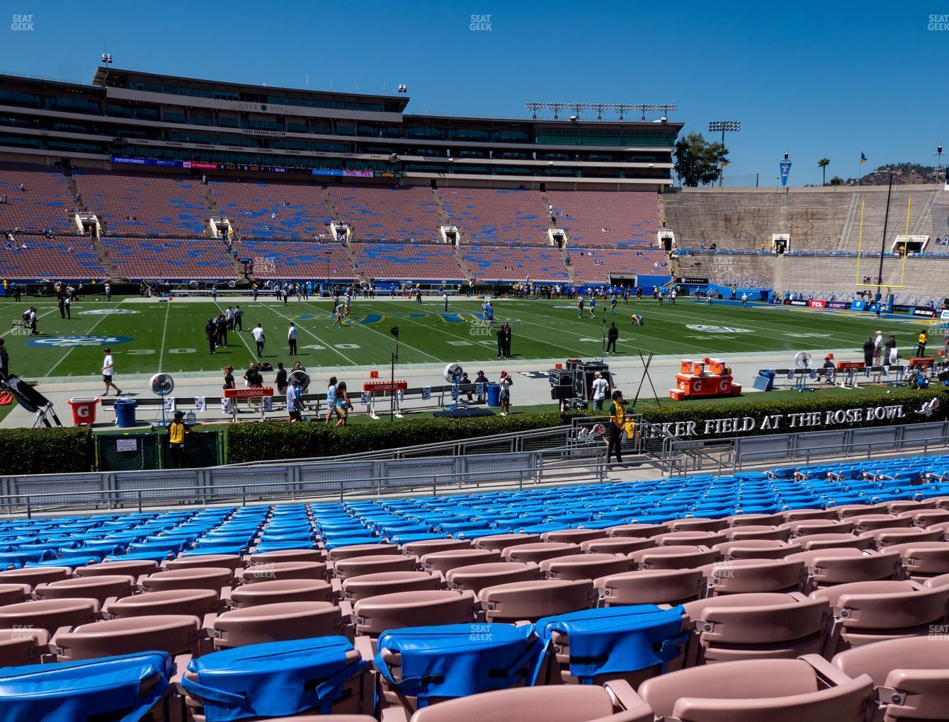 The Rose Bowl Lower 4 L Seat Views   SeatGeek