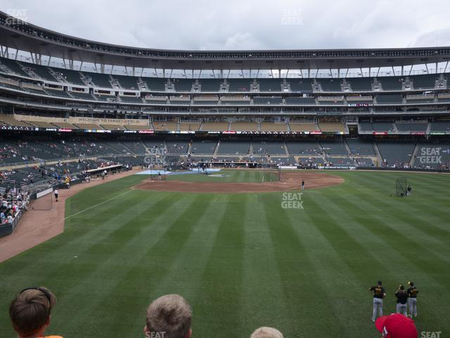 Target Field Section 137 view