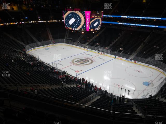T-Mobile Arena Section 209 view