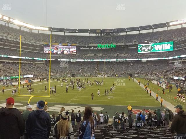 MetLife Stadium Section 149 view