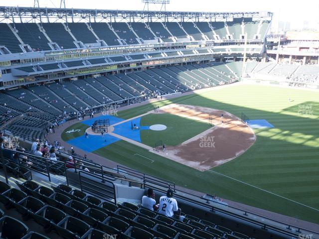 Guaranteed Rate Field Section 518 view