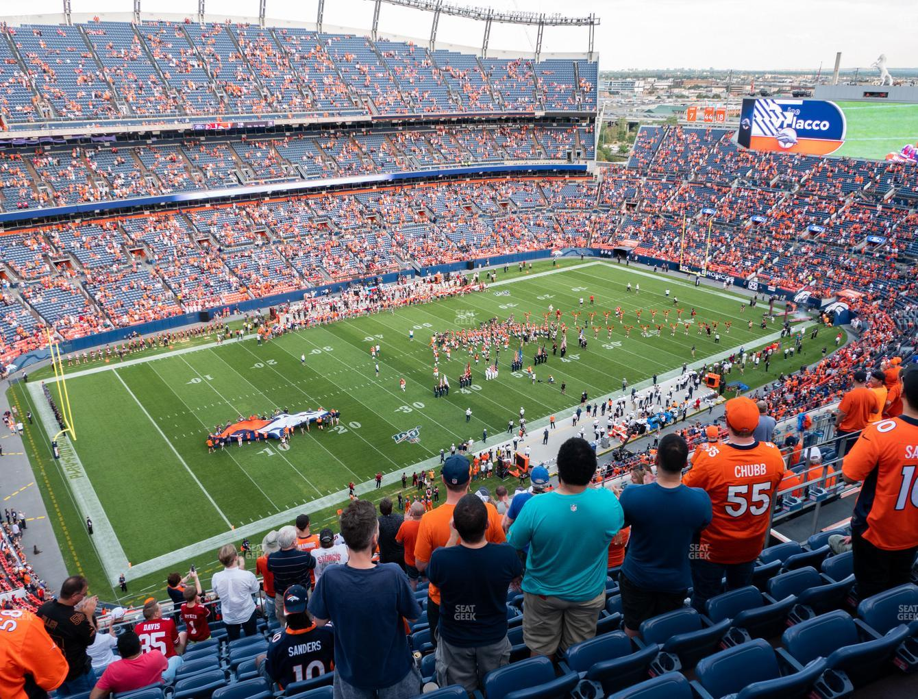 Denver Broncos at Empower Field at Mile High Section 513 View