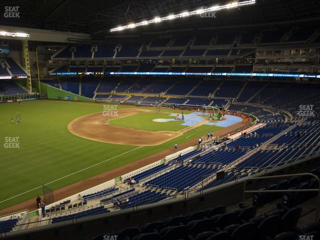 Marlins Park Section 226 view