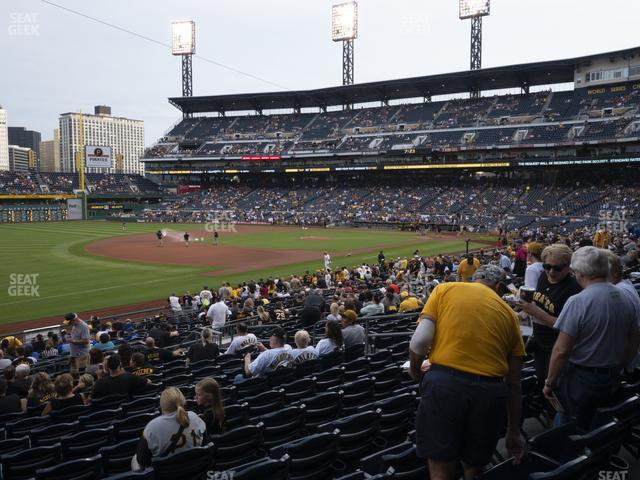 PNC Park Section 128 view