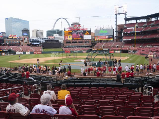 Busch Stadium Home Field Box 152 view