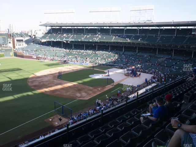 Wrigley Field Section 306 Left view