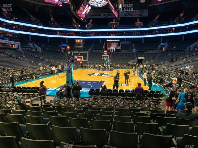 Spectrum Center Section 109 view