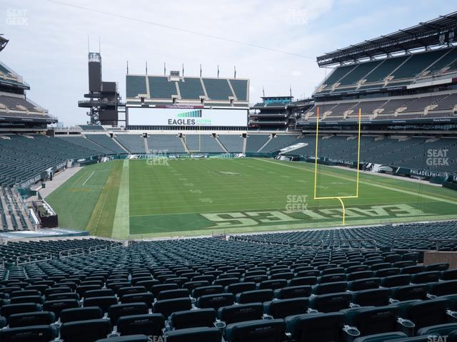 Lincoln Financial Field Section 108 view