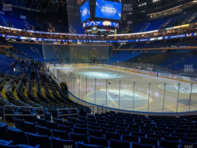 KeyBank Center Section 101 view