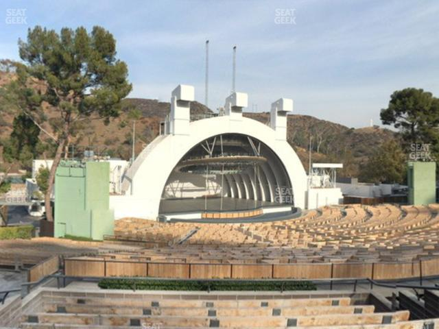 Hollywood Bowl Section K 2 view